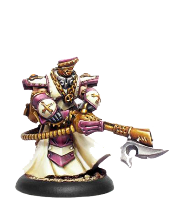 Menoth Flameguard Cleanser Officer